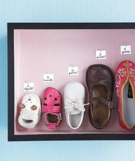Shoe growth chart on realsimple.com