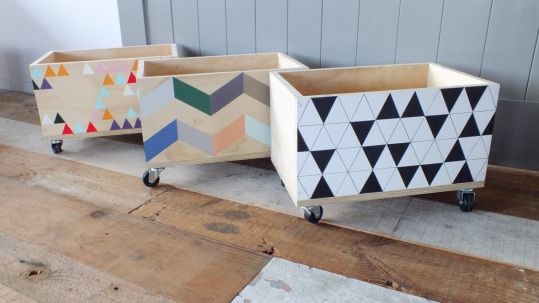 Wooden boxes from MoveUrArt